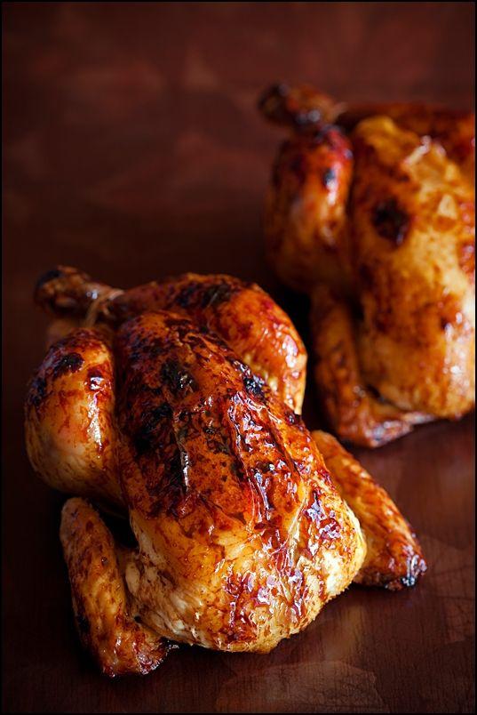 Курица с золотистой корочкой в духовкеы с фото