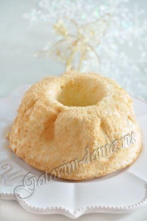 бисквит из белков рецепт