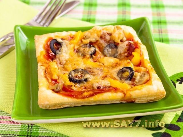 Как сделать слоеное тесто для пиццы