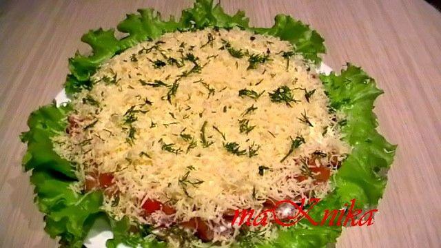 Видео салат на скорую руку рецепты