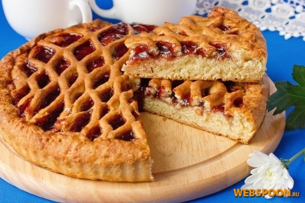 Фото пирог с повидлом
