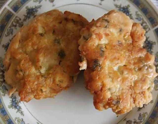 Драники с куриным фаршем рецепт