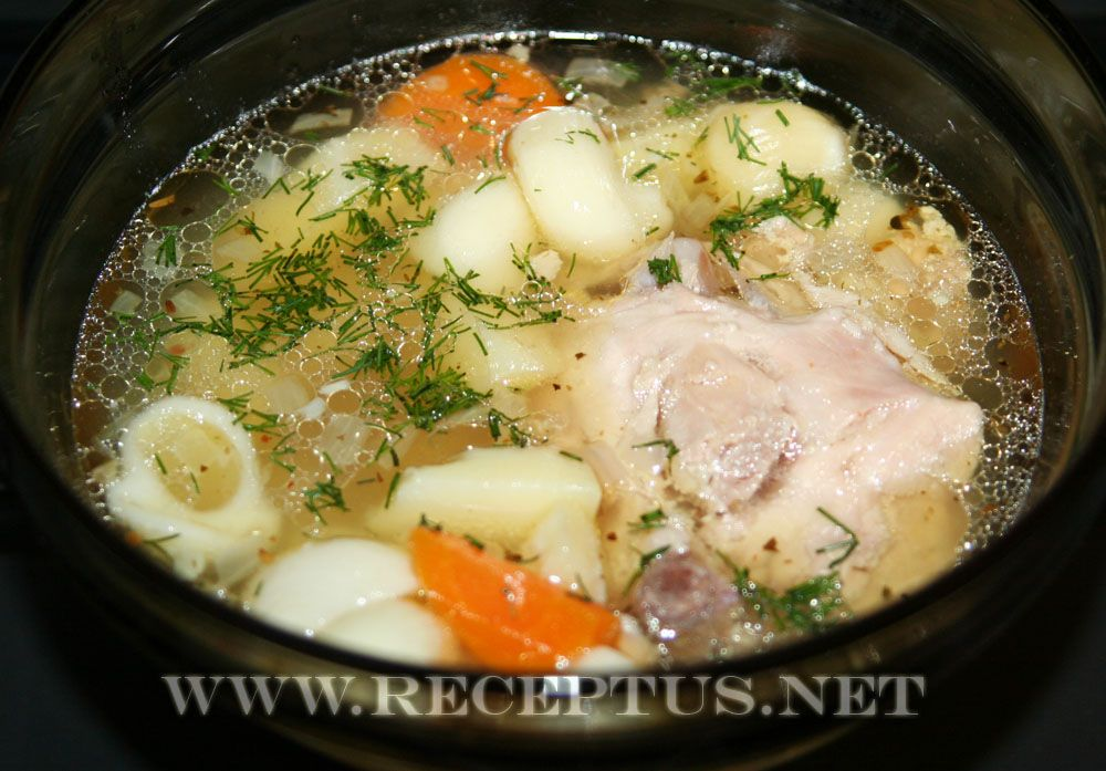 Какой приготовить суп из курицы простые и вкусные