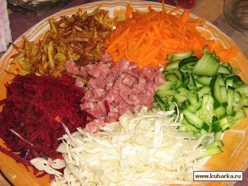 Рецепты салатов заготовки с фото