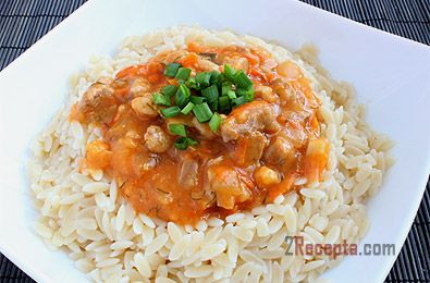 Как сделать рис с соусом