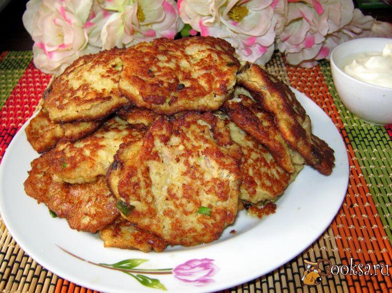Кабачковые оладьи рецепт пошагово с фаршем