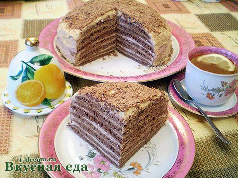 Выпечки к чаю торты