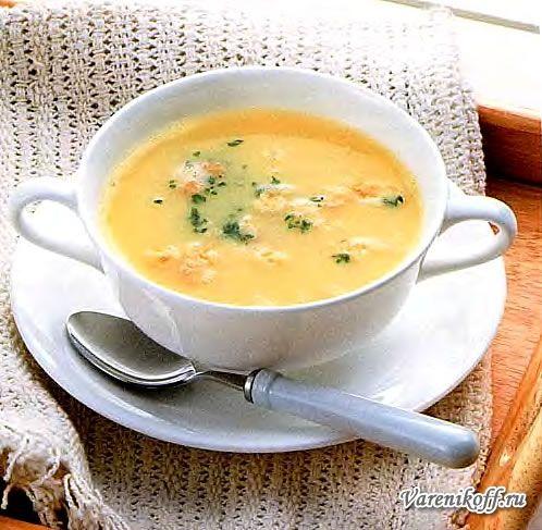 Рецепт горохового супа-пюре в мультиварке