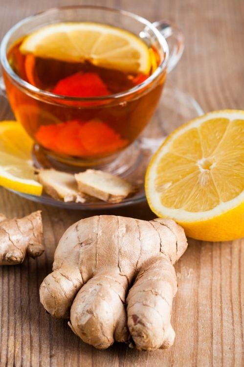 Как сделать чай с имбирь