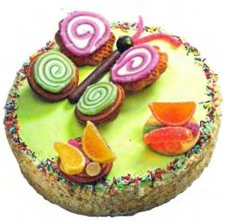 Как украсит торт для мальчика на день рождения