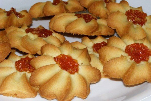 Рецепты песочного печенья курабье с фото