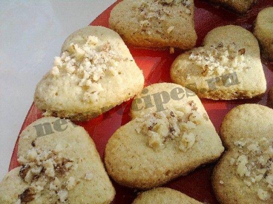 Песочное печенье сердечки рецепт с фото