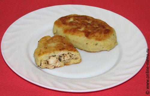 Зразы картофельные с фаршем и яйцом рецепт приготовления