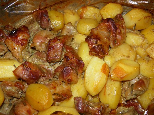 мясо с цукини в духовке рецепт с фото