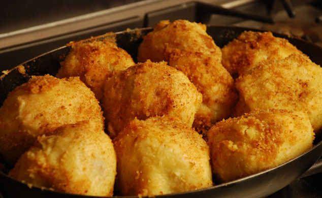 рецепт клецок из картофеля с мясом