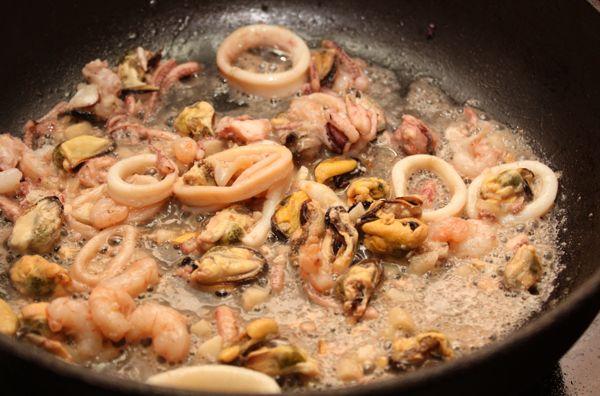 Как приготовить морепродукты рецепт