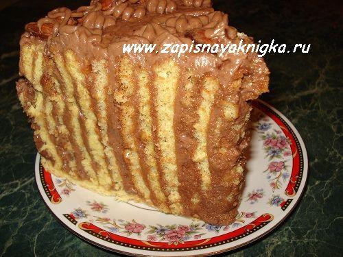 Торт с кремом из сгущенки и масла рецепт с фото пошагово