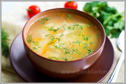 Суп куриный рецепты простые фото