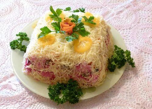 Салат из вареных яиц рецепты с
