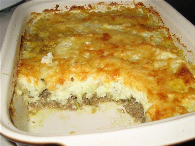 Что приготовить из картошки и фарша на сковороде рецепт