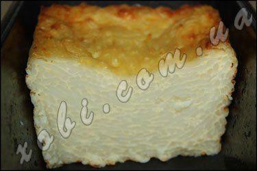 Запеканка из макарон с яйцом и сыром