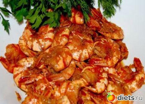 Креветки соевом соусе рецепт фото