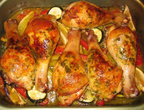 Приготовить куриные голени рецепт фото