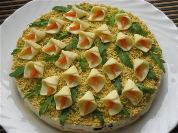 простые закуски на день рождения рецепты с фото