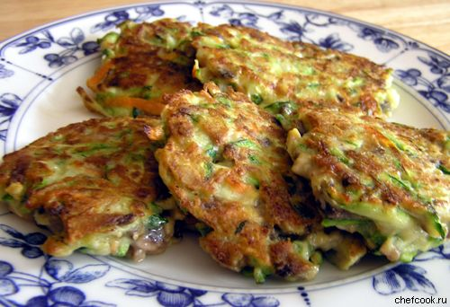 Рецепт фото блюда из кабачков