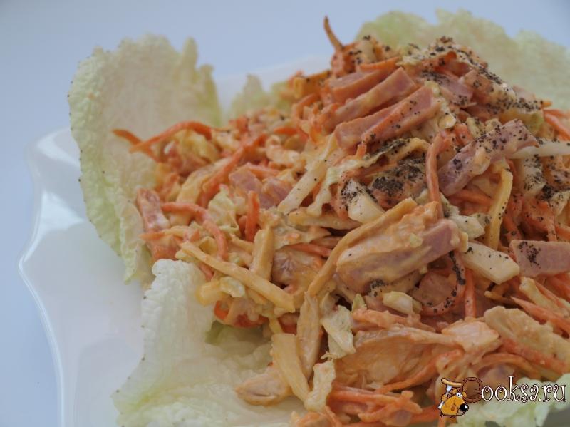 Салат с курицы и моркови по-корейски рецепт с