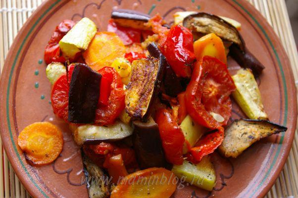 Овощи гриль в мультиварке рецепты с фото